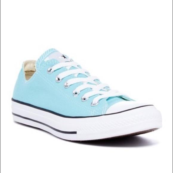 converse shoes light blue